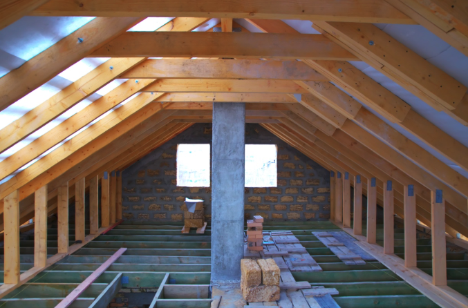 preparing an attic for insulation